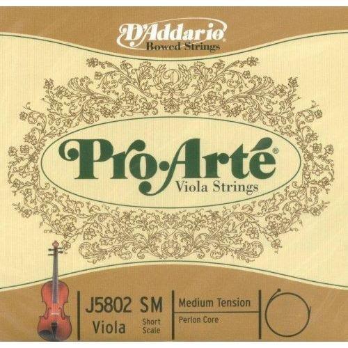 """D'Addario D'Addario Pro-Arté viola long A string (15""""-17""""), medium"""