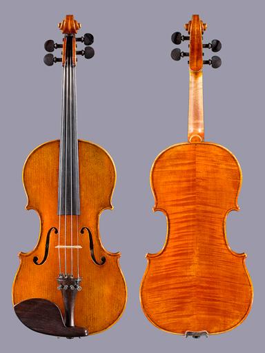 Italian Anna Tartari 4/4 violin, Cremona Italy 2003