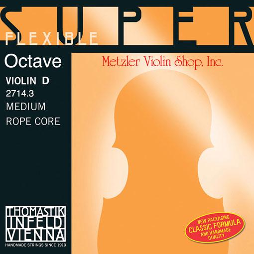 Thomastik-Infeld OCTAVE SuperFlexible Violin D string medium, by Thomastik-Infeld