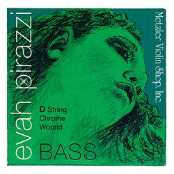 Pirastro Pirastro EVAH PIRAZZI bass D string, synthetic-chrome