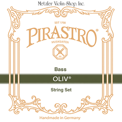Pirastro Pirastro OLIV bass string set, 3/4, gut/chrome steel, orchestra tuning