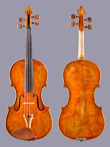 Japanese Esao Izutsu violin, 2008, Tokyo, JAPAN