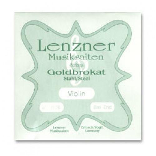 Misc. Es Goldbrokat violin E, 28 ball