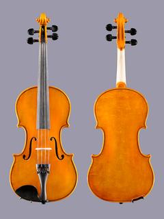 Samuel Eastman model 80 violin outfit, 1/2