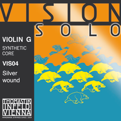 Thomastik-Infeld VISION SOLO violin G string, silver wound, medium, by Thomastik-Infeld