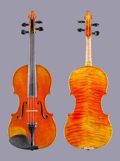 French Paul Blanchard violin, Lyon, FRANCE 1896 #399