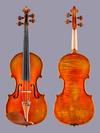 Korean J.D. Kraemer 4/4 violin 2010 Universal String Instruments mod. 600