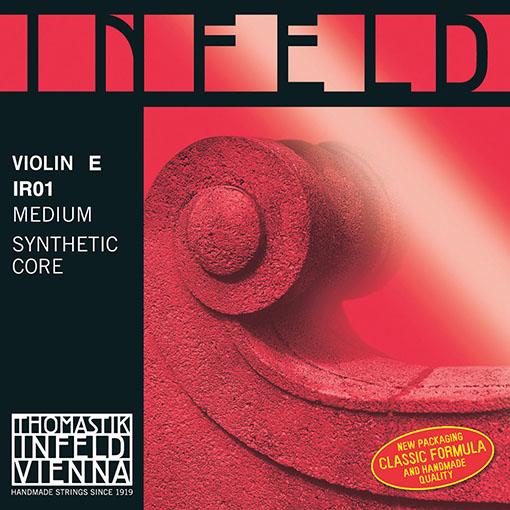 Thomastik-Infeld INFELD RED violin E string, gold-plated chrome-steel, by Thomastik-Infeld