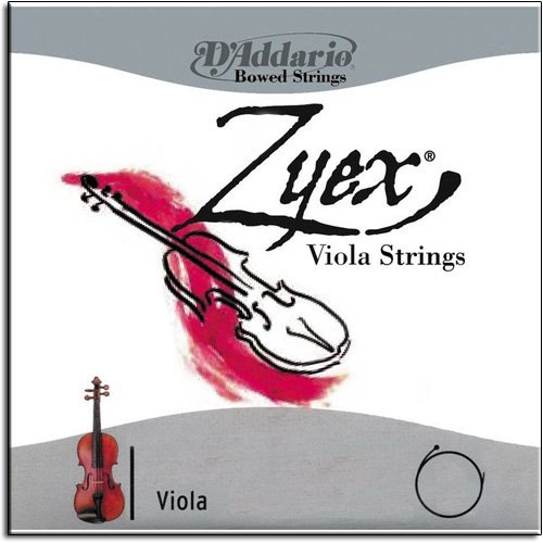 "D'Addario D'Addario ZYEX long viola string set (15""-17""), medium"