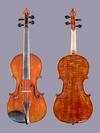 D.M. DeSilva violin, 1908, Washington D.C.
