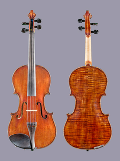 D.M. DeSilva violin, 1908, Washington D.C.
