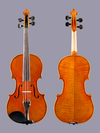 William Harris Lee small 3/4 violin outfit, Chicago 1989 #130
