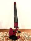 electric violins Jordan 5-string Purpleheart electric violin with case