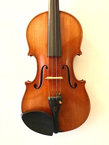 Gian Rocca Stradivari label German 4/4 violin