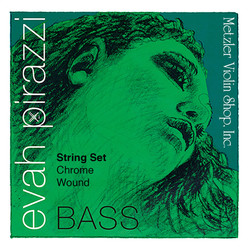 Pirastro Pirastro EVAH PIRAZZI bass string set, synthetic-chrome