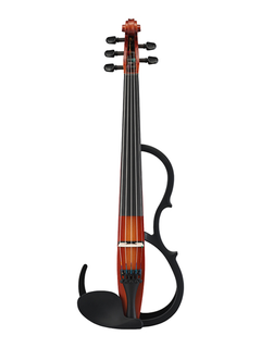 Yamaha Yamaha SV-255 five-string electric Silent Violin Pro with control box