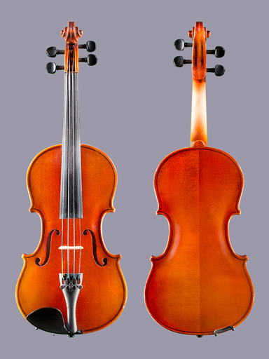 R. Becker Becker Prelude 1/2 used violin outfit, Romania, Serial No. 100573