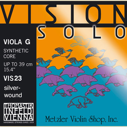 Thomastik-Infeld VISION SOLO viola G string, silver wound, by Thomastik-Infeld