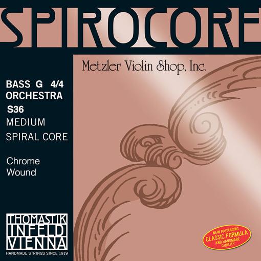 Thomastik-Infeld SPIROCORE chrome-wound Bass G string, 3/4 orchestra, by Thomastik-Infeld