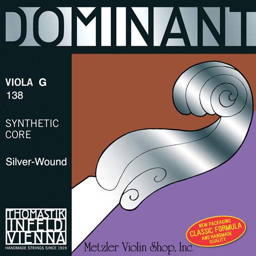 Thomastik-Infeld DOMINANT viola G string - all sizes & gauges, by Thomastik-Infeld