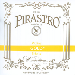 Pirastro Pirastro GOLD violin E string (steel)