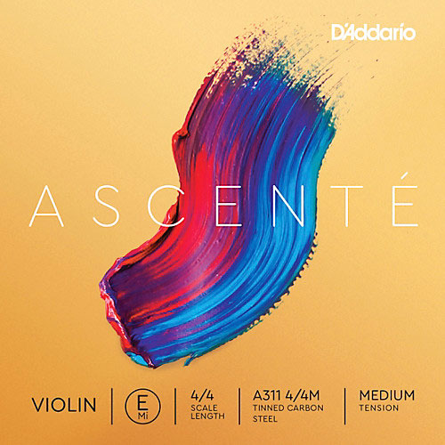 D'Addario D'Addario Ascente violin E string, master