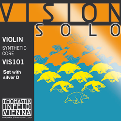 Thomastik-Infeld VISION SOLO violin string set, all types, by Thomastik-Infeld