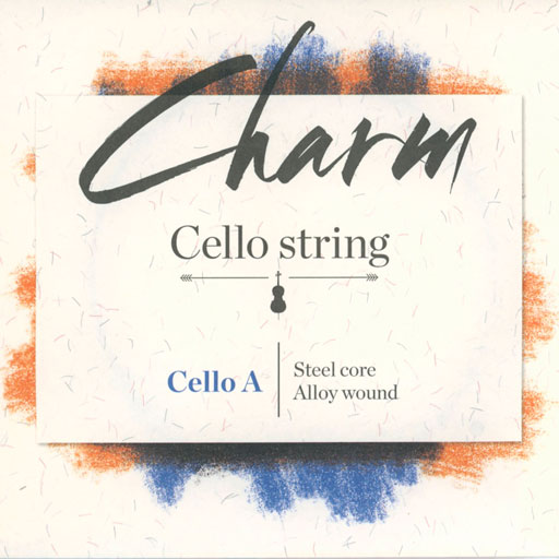 For-tune Charm cello steel A string, by For-tune, medium,