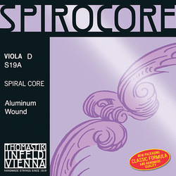 Thomastik-Infeld SPIROCORE viola D string, steel core, by Thomastik-Infeld