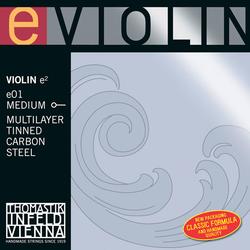 Thomastik-Infeld Tin Coated violin E string, Multilayer Carbon Steel, Special Program, by Thomastik-Infeld