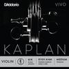 D'Addario D'Addario KAPLAN VIVO 4/4 violin E string, master