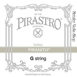 Pirastro Pirastro PIRANITO chrome-steel violin G string, medium,