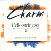 For-tune Charm cello steel string set by For-tune, medium,