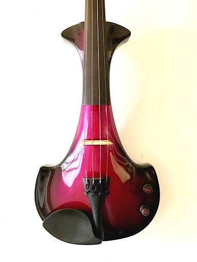 electric violins Bridge Aquila 4-string electric violin outfit