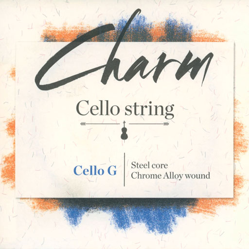 For-tune Charm cello steel G string, by For-tune, medium,