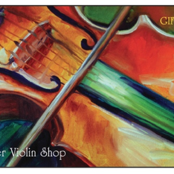 Metzler Gift Card - Colorful Violin