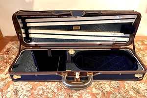Musafia Musafia Luxury Ultralight violin case, model U3012, Cremona, ITALY
