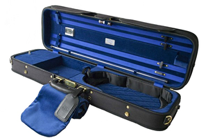 Winter Jakob Winter Deluxe Super-Light oblong violin case, GERMANY, Black exterior