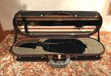 Musafia Musafia AETERNUM elliptical violin case, model 3611E, Cremona, ITALY