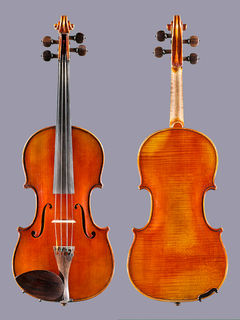 French R & M Millant 4/4 violin, Paris 1944