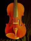 Jonathan Franke 4/4 violin, Monroe, OR 2003, #61