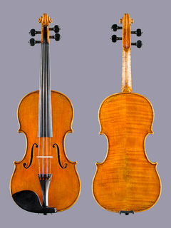 Otto Musica OTTO 760 European wood violin w. antiqued varnish.