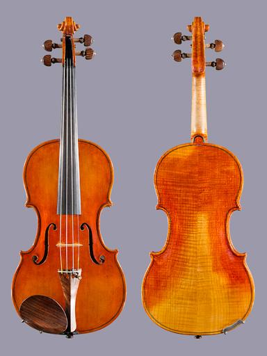 Joseph Puskas 4/4 violin, Los Angeles 1996