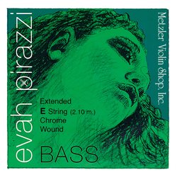 Pirastro Pirastro EVAH PIRAZZI bass extended E string, synthetic-chrome