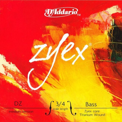 D'Addario D'Addario ZYEX 3/4 bass E string, medium