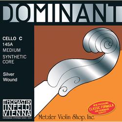 Thomastik-Infeld DOMINANT cello C string, silver wound, medium, by Thomastik-Infeld
