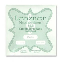 Misc. Es Goldbrokat violin E, 27 ball