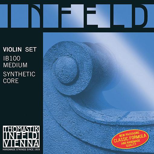 Thomastik-Infeld INFELD BLUE violin string set, medium, by Thomastik-Infeld