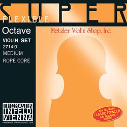 Thomastik-Infeld OCTAVE SuperFlexible Violin string set medium, by Thomastik-Infeld