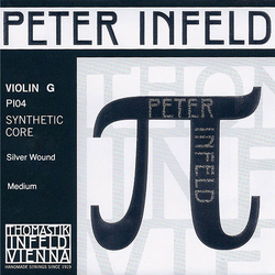 Thomastik-Infeld PETER INFELD violin G string, silver wound, by Thomastik-Infeld